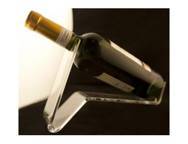Porte bouteille avec gravure