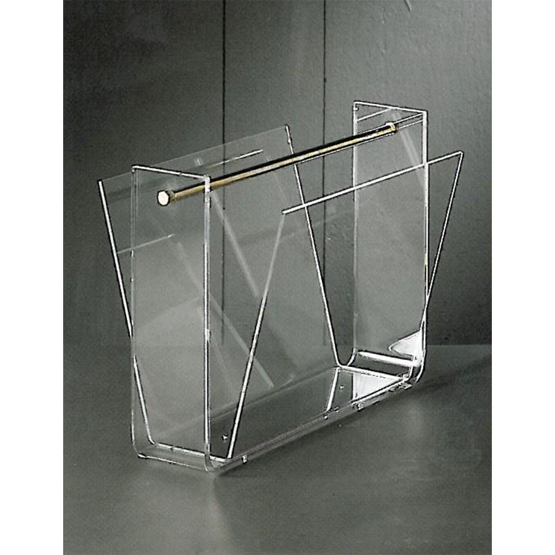 porte revues transparent omega. Black Bedroom Furniture Sets. Home Design Ideas
