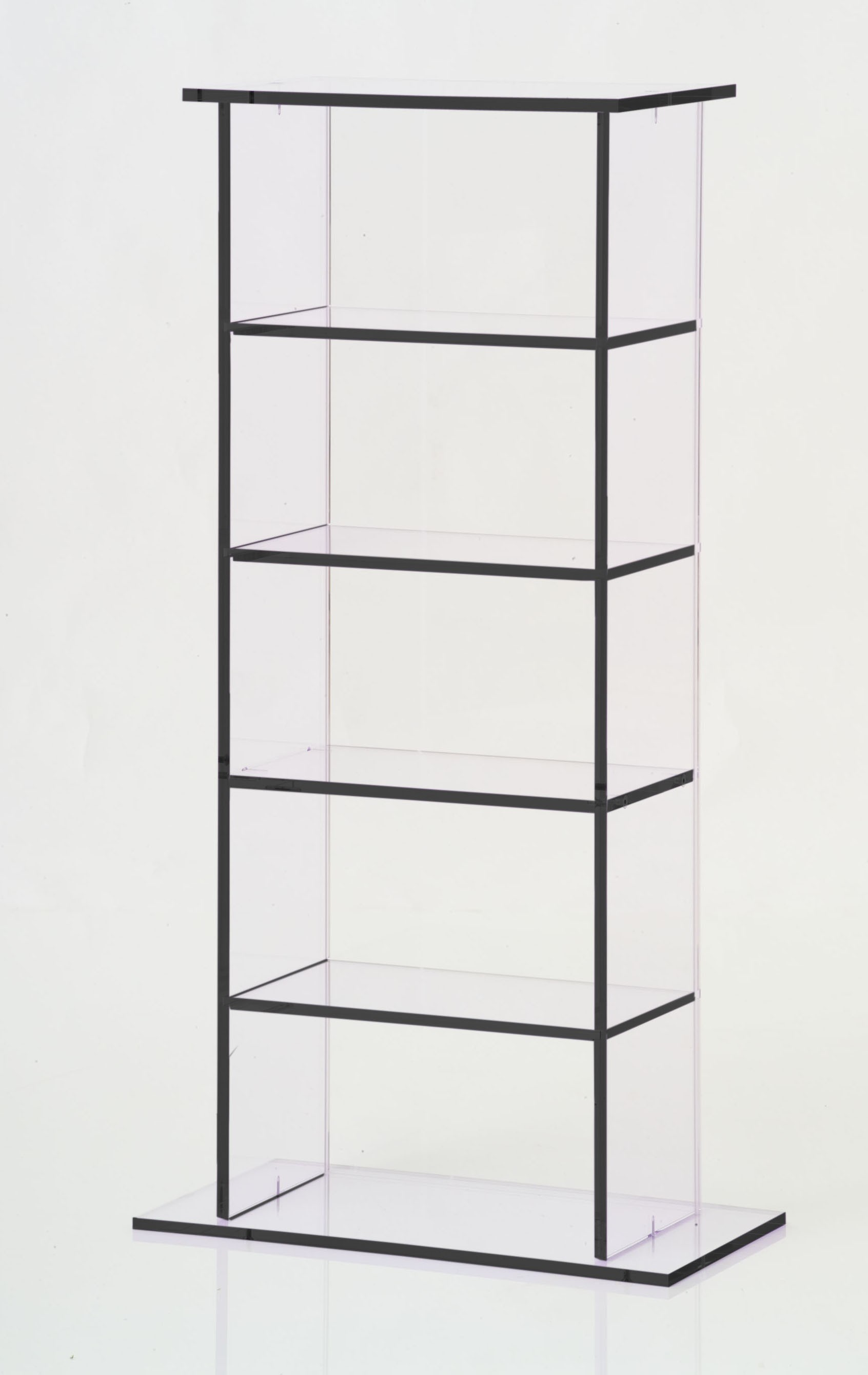 colonne rangement cd en plexi. Black Bedroom Furniture Sets. Home Design Ideas