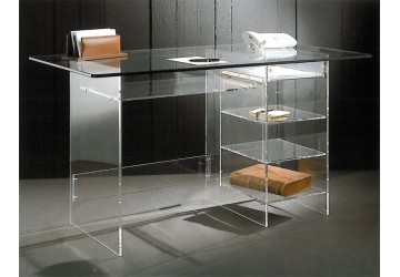 bureau cyber un meuble transparent moderne. Black Bedroom Furniture Sets. Home Design Ideas