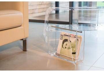Porte-revues transparent OMEGA
