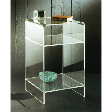 meuble plexiglas transparent d appoint carlo. Black Bedroom Furniture Sets. Home Design Ideas