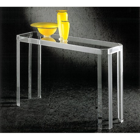 console transparente athena un meuble design en plexiglas. Black Bedroom Furniture Sets. Home Design Ideas
