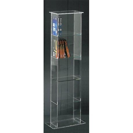 Tour de rangement transparente cavid - Meuble plexiglas design ...