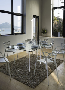Table de repas - Collection Cristal