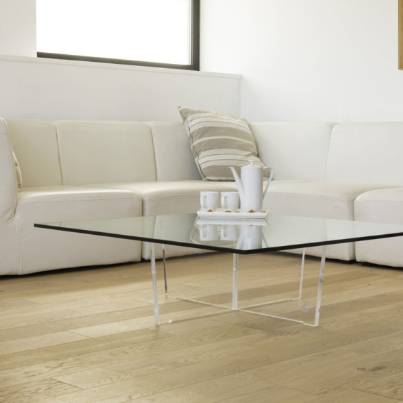 L'inspiration du mois : les tables basses transparentes