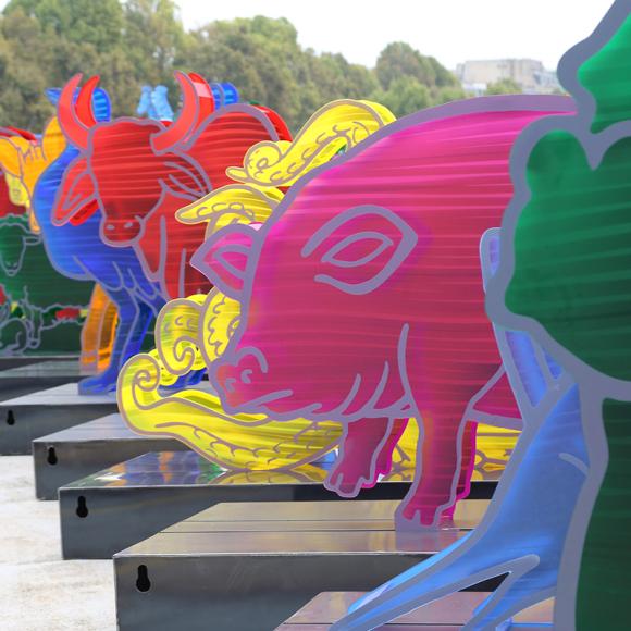 COP21 : la manufacture David Lange réalise les animaux de l'Arche de Noé Climat !