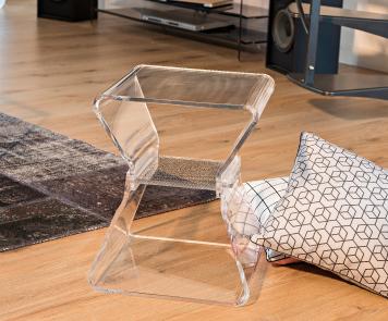 5 bonnes raisons de refaire sa déco avec des meubles transparents