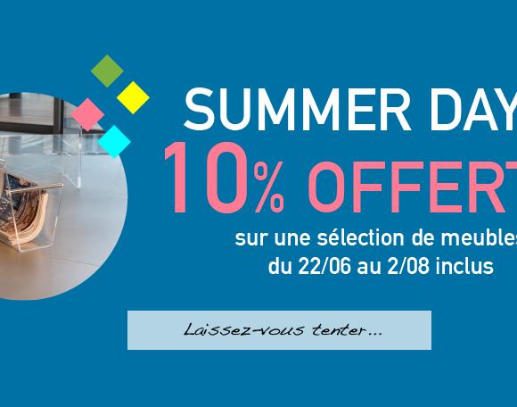 «Summer Days», promotion estivale chez David Lange