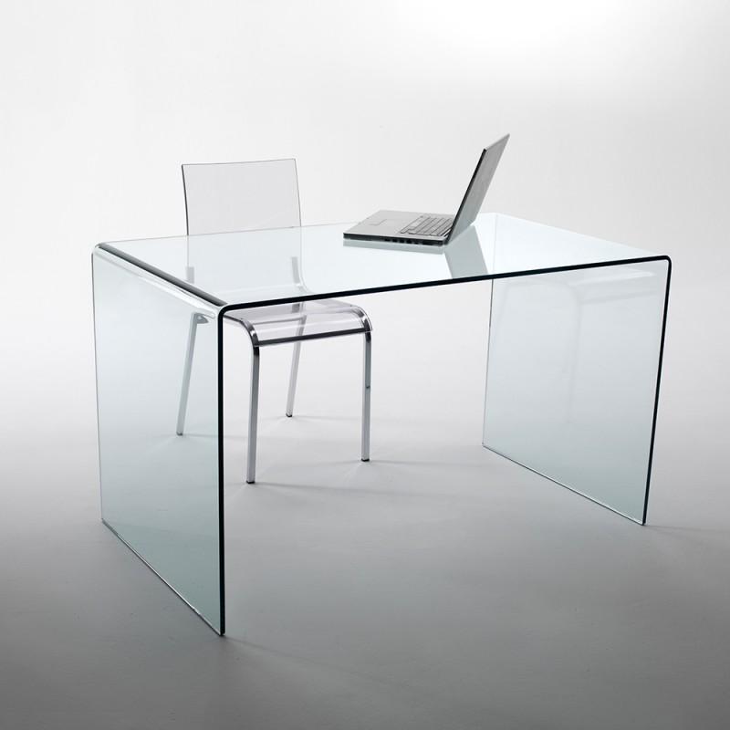 un bureau un meuble informatique transparents un choix clair. Black Bedroom Furniture Sets. Home Design Ideas