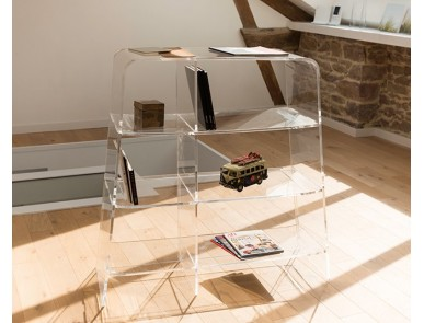 Meubles Transparents De Bureau Design Et Fonctionnel
