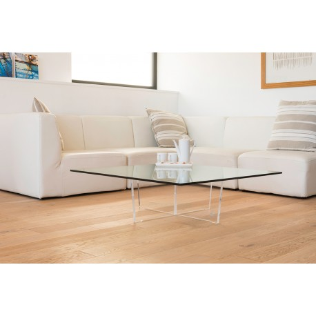 Table basse Cristal carrée