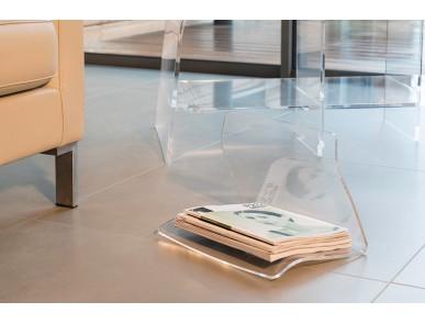 Porte-revues transparent BOOK