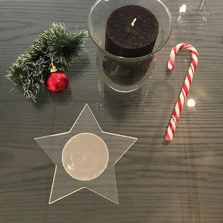 Étoile décorative de Noël