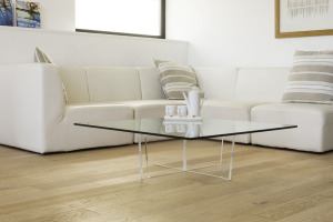 Table basse Cristal transparente