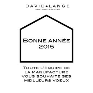 Meilleurs vœux David Lange