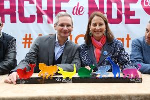 Ségolène Royal et Thierry Le Hénaff