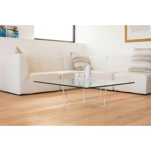 Table basse transparente Cristal