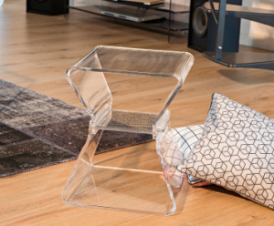 tabouret transparent