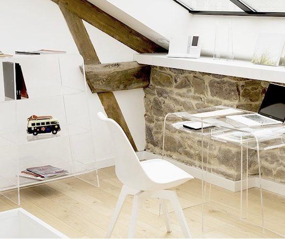 Les meubles transparents pour donner un look inédit à votre intérieur