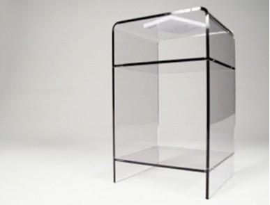 Meubles transparents de bureau design et fonctionnel plexi et