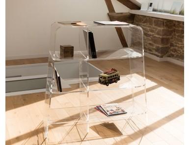 Meubles plexiglas de rangement pour bureau design et pratiques